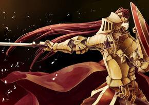 Golden Knight soldier