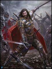 Robert II in battle