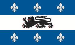 Pēṇṭalia flag