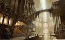 Royal Palace Stairways