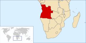 Lokalizazió Angola