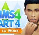 Let's Play The Sims 4: Get to Work - Part 4 (BROWNIES!!!)