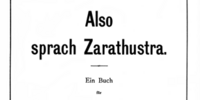 Thus Spoke Zarathustra: A Book for All and None