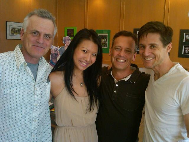 File:Dee Bradley Baker with Rob Paulsen, Gwendoline Yeo, & Yuri Lowenthal.jpg