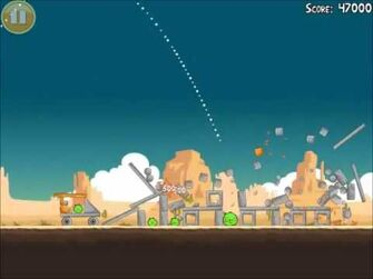 Official Angry Birds Walkthrough Ham 'Em High 12-10