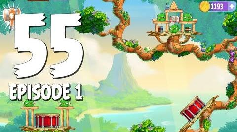 Angry Birds Stella Level 55 Walkthrough Branch Out Episode 1