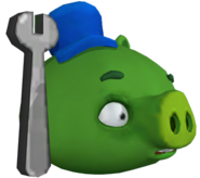 ANGRY BIRDS GO MECHANIC PIG CGI