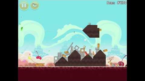 Angry Birds Birdday Party 18-2 Walkthrough 3 Star Birthday Party
