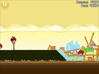 Official Angry Birds Walkthrough The Big Setup 10-14
