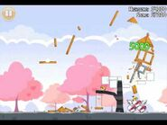 Official Angry Birds Seasons Walkthrough Hogs and Kisses 1-5