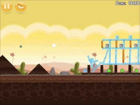 Official Angry Birds Walkthrough Poached Eggs 3-11