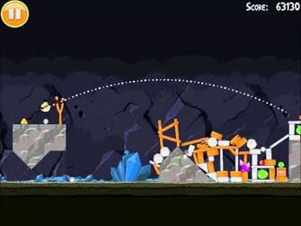 Official Angry Birds Walkthrough Mine and Dine 16-14