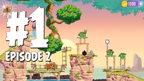 Angry Birds Stella Level 1 Episode 2 Beach Day Walkthrough