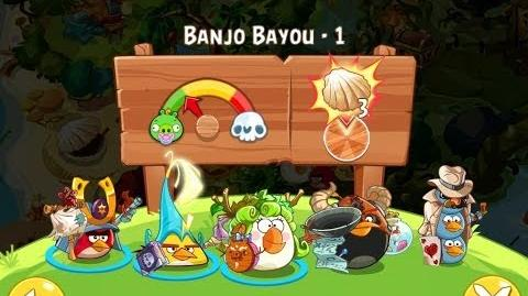 Angry Birds Epic Banjo Bayou Level 1 Walkthrough