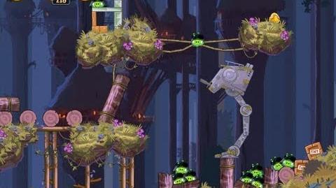 Angry Birds Star Wars 5-15 Moon of Endor 3 Star Walkthrough