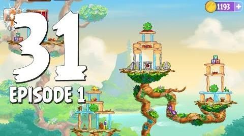Angry Birds Stella Level 31 Walkthrough Branch Out Episode 1