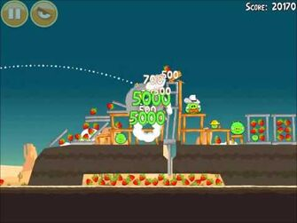 Official Angry Birds Walkthrough Ham 'Em High 13-12
