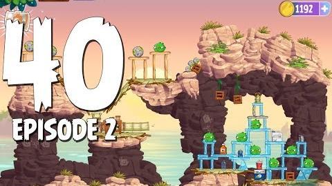Angry Birds Stella Level 40 Episode 2 Beach Day Walkthrough