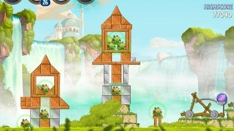 Angry Birds Star Wars 2 Level B1-9 Naboo Invasion 3 star Walkthrough