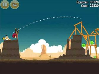 Official Angry Birds Walkthrough Ham 'Em High 13-5