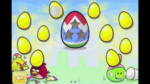 Angry Birds Seasons Easter Eggs Golden Egg 10 Walkthrough
