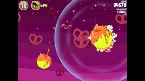Angry Birds Space Utopia 4-7 Walkthrough 3-Star