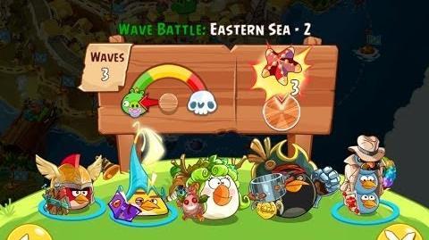 Angry Birds Epic Eastern Sea Level 2 Walkthrough