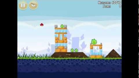 Angry Birds Poached Eggs 1-11 Walkthrough 3 Star