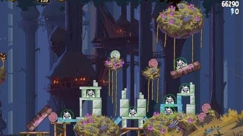 Angry Birds Star Wars 5-9 Moon of Endor 3 Star Walkthrough