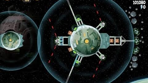 Angry Birds Star Wars 6-14 Death Star 2 Walkthrough 3 Stars