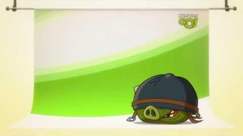 Angry Birds Go! character reveals Corporal Pig