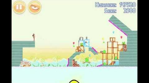 Angry Birds Golden Egg 13 Walkthrough