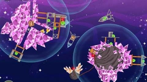 Angry Birds Space Cosmic Crystals 7-20 Walkthrough 3 Star