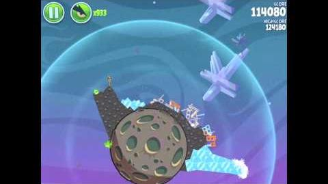 Angry Birds Space Fry Me to the Moon 3-10 Walkthrough 3-Star