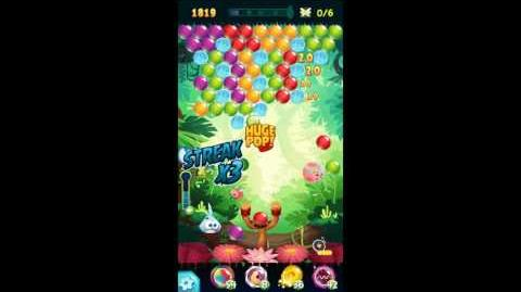 Angry Birds POP! Level 10 Golden Feather (Luca) Walkthrough
