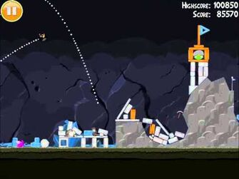Official Angry Birds Walkthrough Mine and Dine 16-4