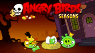 Angry Birds Seasons Loading Screen Haunted Hogs