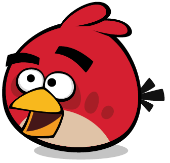 image red thinking angry birds wiki fandom powered by wikia. Black Bedroom Furniture Sets. Home Design Ideas