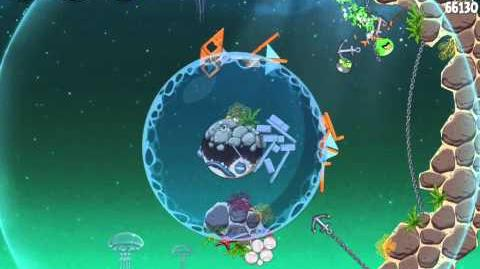 Angry Birds Space Pig Dipper 6-9 Walkthrough 3-Star