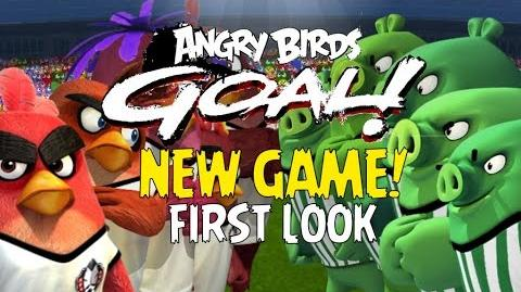 First Look at ANGRY BIRDS GOAL! Brand NEW Sports Game by Rovio