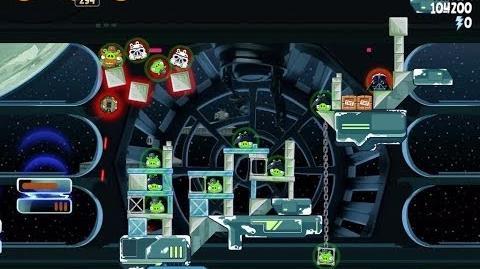 Angry Birds Star Wars 6-28 Death Star 2 Walkthrough 3 Stars