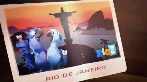 Return to Angry Birds Rio!