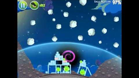 Angry Birds Space Pig Bang 1-18 Space Eagle Walkthrough