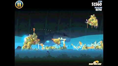 Angry Birds Star Wars 3-31 Hoth 3-Star Walkthrough