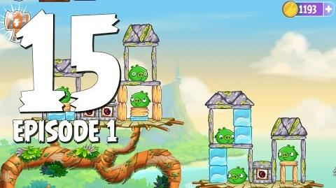 Angry Birds Stella Level 15 Walkthrough Branch Out Episode 1