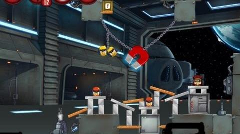 Angry Birds Star Wars 2 Level P1-2 Naboo Invasion 3 star Walkthrough