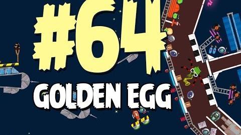 Angry Birds Seasons Invasion of the Egg Snatchers Golden Egg 64 Walkthrough