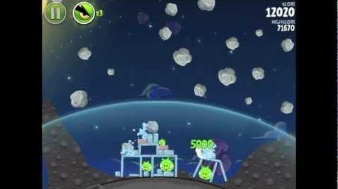 Angry Birds Space Pig Bang 1-18 Walkthrough 3-star