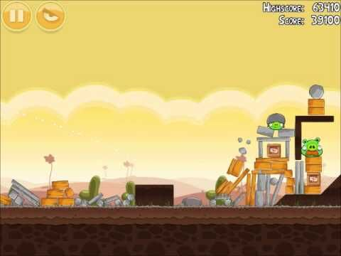 Official Angry Birds Walkthrough Poached Eggs 3-19