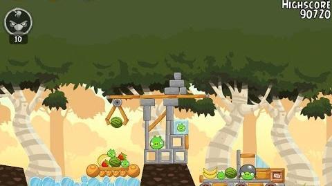 Angry Birds 29-5 Flock Favorites 3 Star Walkthrough